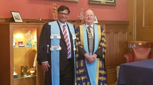 with the honorable president of the Royal college of surgeons Edinburgh